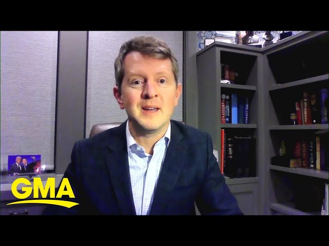 Ken Jennings opens up about hosting \'Jeopardy!\' and Alex Trebek\'s final shows l GMA