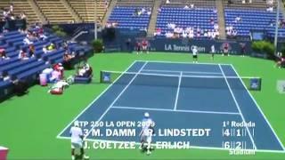 Damm & Lindstedt vs Coetzee & Erlich - Los Angeles 2009 (5 de 8)