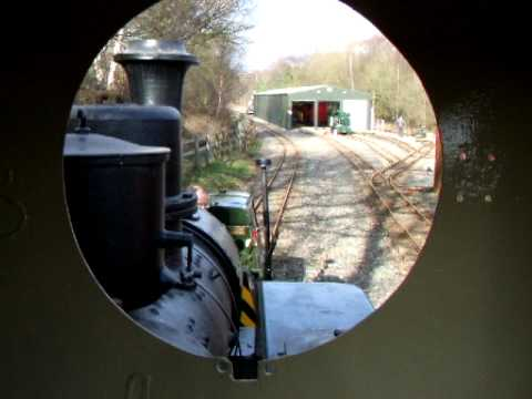 Cabride in War Office Hunslet at Apedale Railway