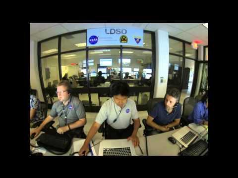 Video file: NASA Tests Low-Density Supersonic Decelerator (LDSD)