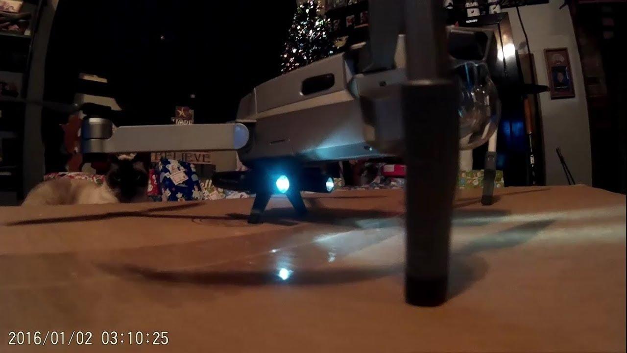 d6f13f55aaa PGYTECH LED Lights Landing Gear on DJI Mavic Pro Platinum - YouTube