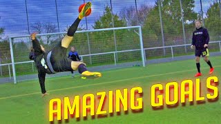 AMAZING GOALS  freekickerz x SkillTwins