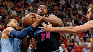 Justise Winslow comments on the Heat's win against the Memphis Grizzlies