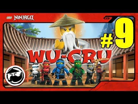 LEGO Ninjago WU-CRU Прохождение Игры Лего Ниндзяго на русском - 9 серия - ПЕЩЕРА САМУРАЯ Х