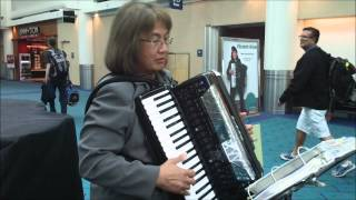 Liz Wisler- Calypso and Limbo on the Roland 8X V- Accordion 052414