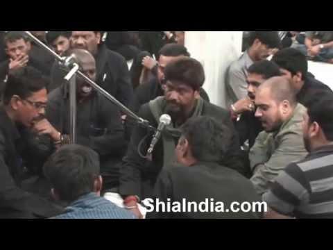 Watan mein qafila-e-karbala ki aamad hai by Zulfequar (zulfu bhai) marsiya khan
