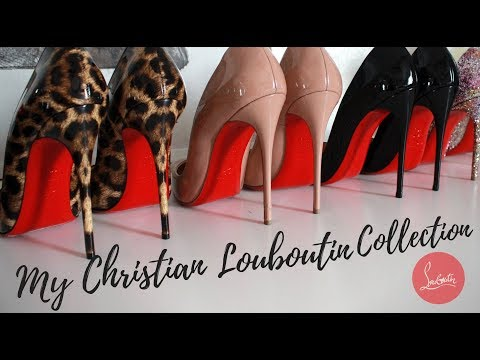 MY CHRISTIAN LOUBOUTIN COLLECTION 2017  👠👠(Try-on Haul)