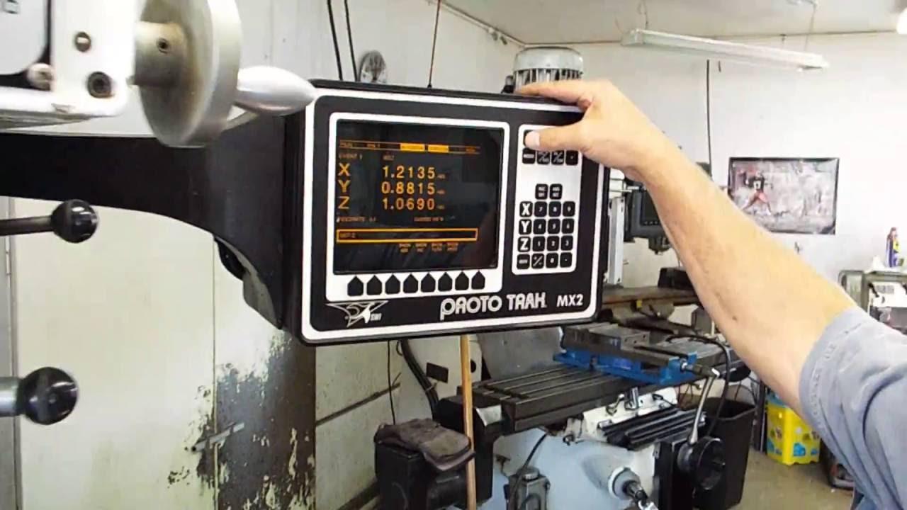 prototrak cnc milling machine trm trak nice shape bedmill w mx2 rh youtube com
