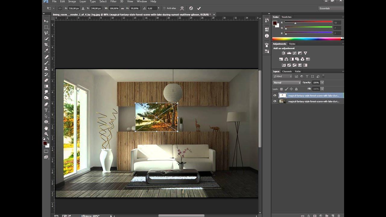 Photoshop Cc Arka Fon Ekleme Ve Tonlama Adding A Background And