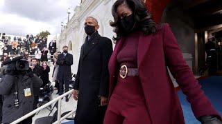 Inauguration Day, tutti pazzi per Michelle Obama: il suo look conquista i social