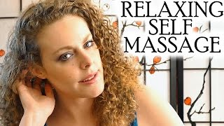 relaxing head scalp self massage asmr binaural soft spoken how to tips