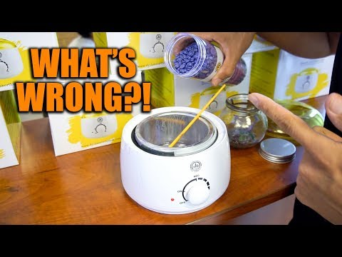 WHAT'S WRONG WITH THIS WAX WARMER? + HUGE GIVEAWAY!