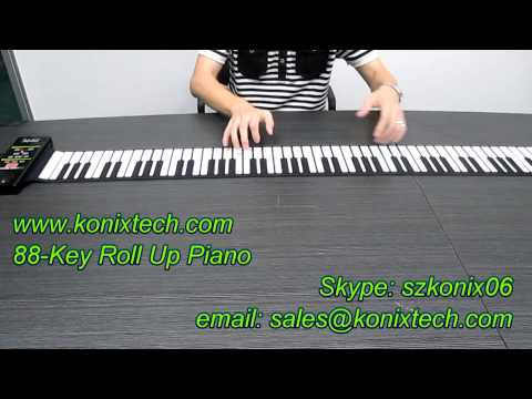 Walmart - Get on the Shelf - 88-Key Roll Up Piano - How to Play the Piano Like a Pro - Part 2