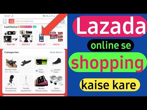 lazada online shopping   lazada online se shopping kaise kare malaysia me