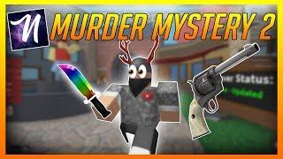ROBLOX Exploit Trolling - Murder Mystery 2 to Ezy [NEBULA HUB V2]