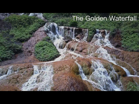 Drone Taiwan - Golden Waterfall nr. Keelung