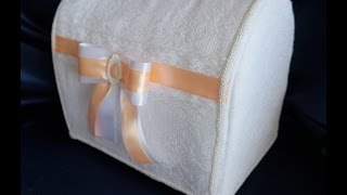 Мастер-класс:Свадебная казна (Сундучок для денег)