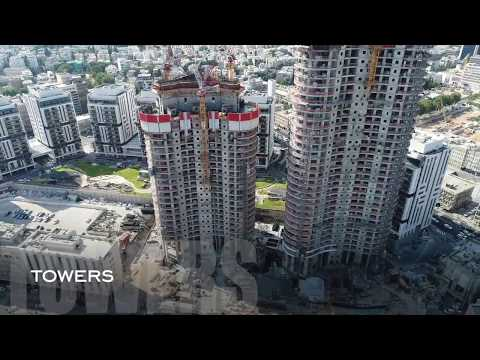 gindi tlv התקדמות הבניה ספטמבר 2017