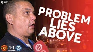 PROBLEM NOT SOLSKJAER! Man Utd 1-1 (5-3 Pens) Rochdale Fan Cam With Webby