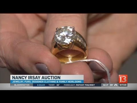 Nancy Irsay auction