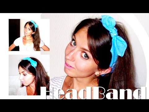 DIY: Ободки с кошачьими ушками своими руками \ Cat Ears Headband