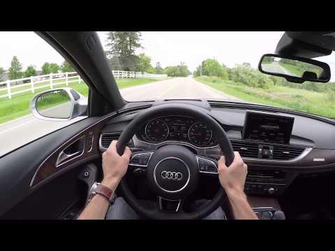 2016 Audi A6 3.0T quattro - WR TV POV Test Drive