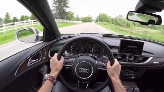2016 Audi A6 3.0T quattro - WR TV POV Test Drive(This week we're at the helm of Audi's mid-sized sports sedan, the A6. This particular model gets a zestier power train than the manual gearbox-equipped A5 ..., 2015-07-22T12:00:01.000Z)
