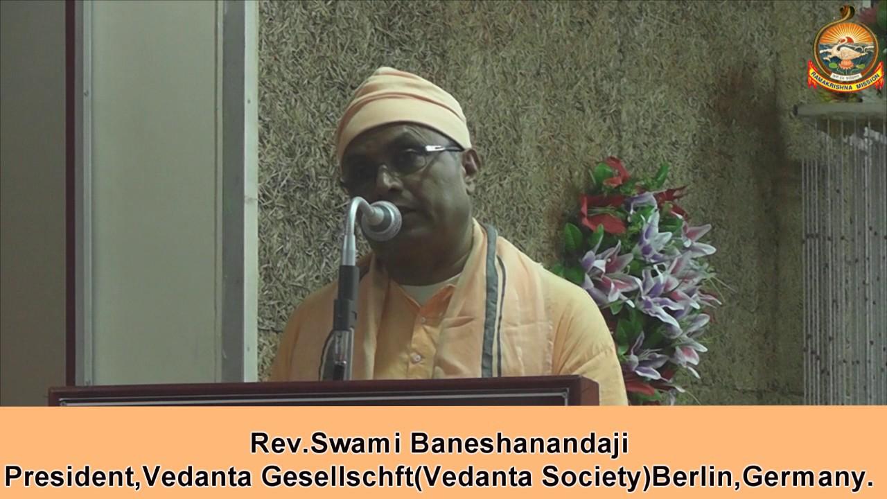 "Swami Baneshanandaji Mj Speech on ""Building A Digital Nation - Problems & Prospects"""