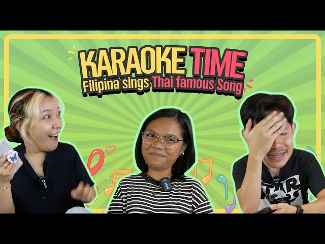 Karaoke time! 🎤🎶 | Do you know that Thai famous song !?!