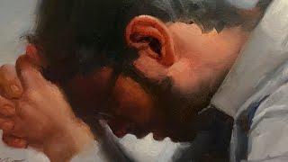 Zimou Tan | Art | How to paint, a praying male portrait demo.