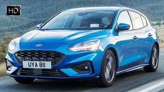 2019 Ford Focus ST-Line Hatchback Exterior Interior Design & Driving Footage HD