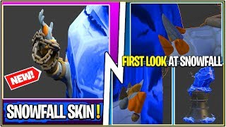 *NEW* Leaked Snowfall Skin or FIRE King Skin..! (Fortnite Secret Found)