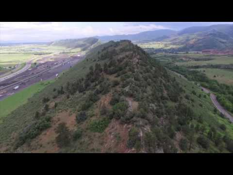 Dinosaur Ridge Hike and Red Rocks Amphitheater in Morrison, Colorado (Drone Footage)