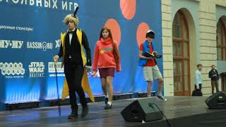 Gravity Falls Cosplay Performances (Dipper, Mabel, Bill Cipher, GIFfany)