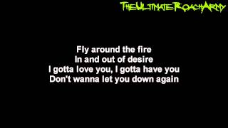 Papa Roach - The Fire {Lyrics on screen} HD