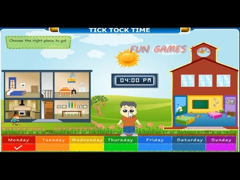 Math Kids - Tick Tock Time | Clock  | Games For Childrens