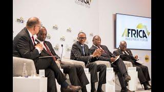 African Investment Forum Panel | H.E. Kagame, H.E. Ramaphosa, H.E. Akufo Addo, PM do Rosário