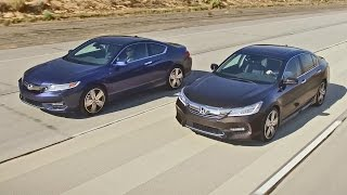 NEW 2016 Honda Accord Sedan and Coupe - Footage