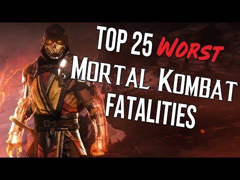 Top 25 Worst Mortal Kombat Fatalities thumbnail