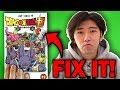 Fixing Dragon Ball Super's Manga