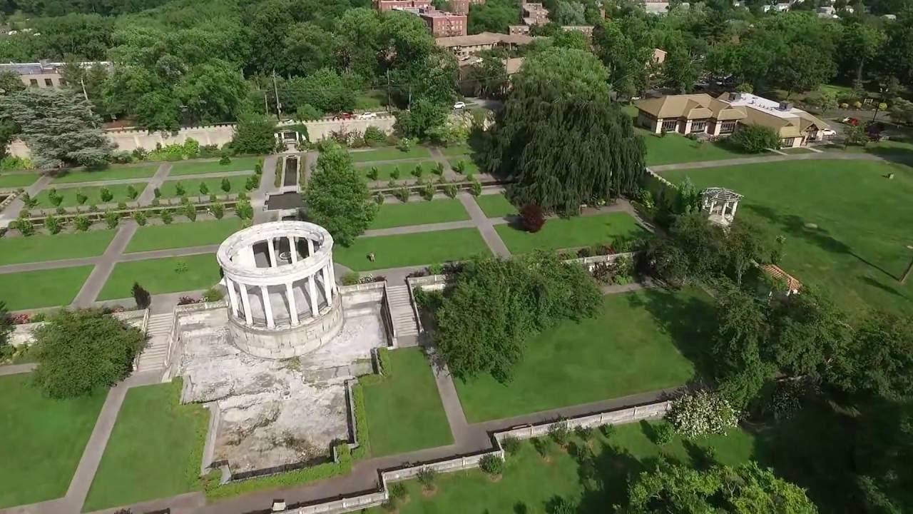 Dji Drone Untermyer Garden Yonkers Ny Youtube