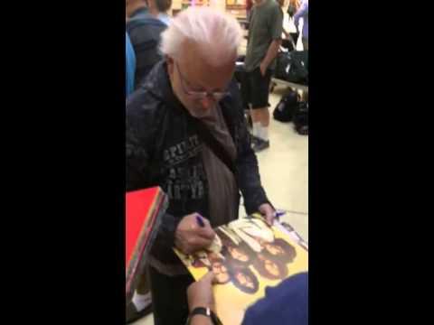 Neal Doughty REO SPEEDWAGON Signing Autographs Team Derek
