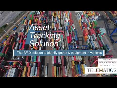 Telematics: asset tracking solution - YouTube