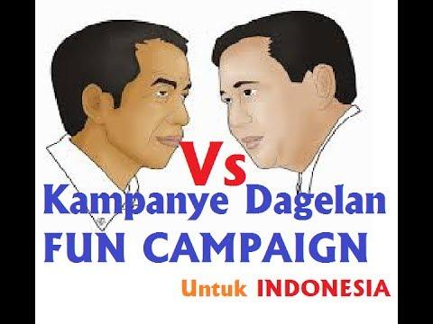 Video Lucu Banget!!! Kampanye Dagelan Prabowo Dan Jokowi Pilpres 2014