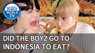 Did THE BOYZ go to Indonesia to eat? [Editor' s Picks / Battle Trip]