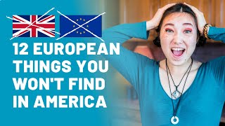 Things That Are Normal In Europe But Unusual In The USA (12 things)