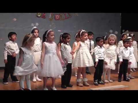 Here comes Suzy Snowflake - Valley Montessori Preschool - Snithik's performance