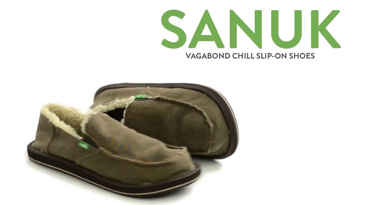 Sanuk Vagabond Chill Shoes - Slip-Ons