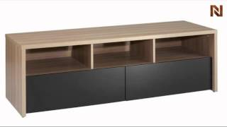 Nexera Infini-t  - Entertainment & Home Office 60'' 2 Drawer Tv Stand 210413
