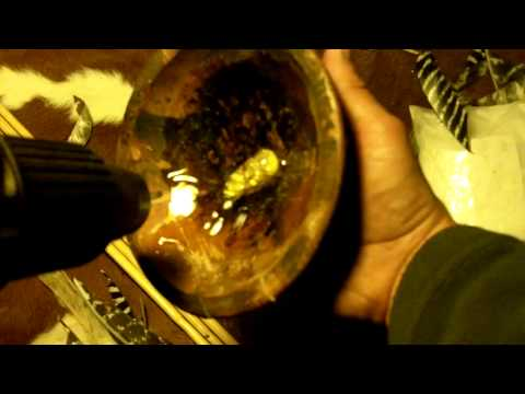 176 - Waterproofing A Cracked Wooden Bowl With Pine Rosin
